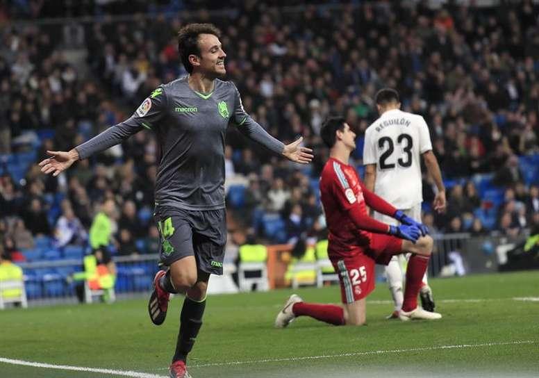 Sociedad emerged shock winners in the capital. EFE
