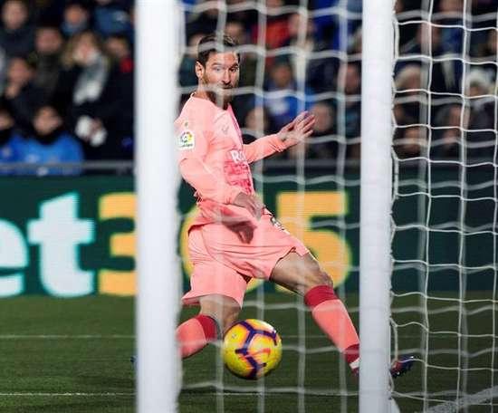 Messi reste premier créateur de but en Europe. EFE
