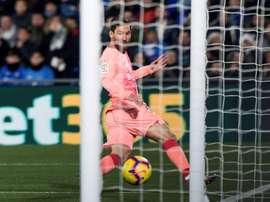 Messi fait craindre Eibar. AFP