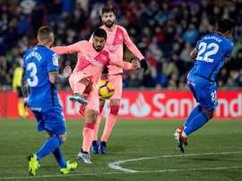 Le Barça vient à bout de Getafe. EFE
