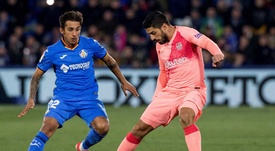 Getafe may face a stronger Barca side after their CL exit. EFE