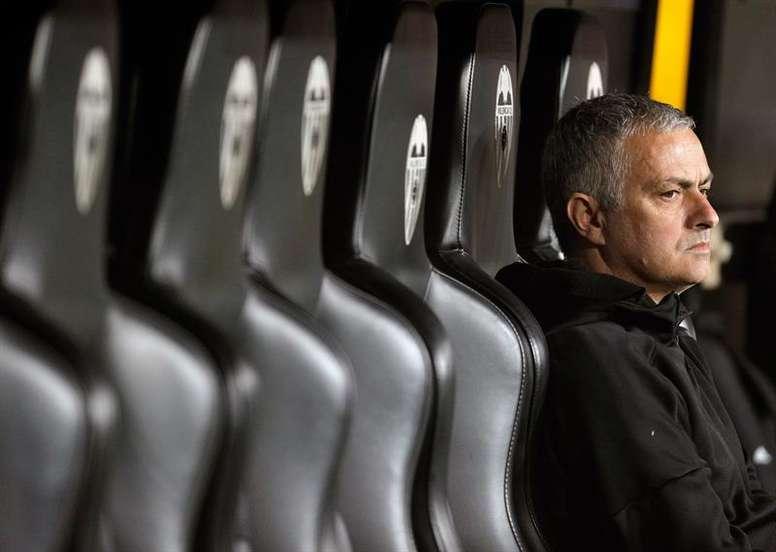O técnico português José Mourinho. EFE