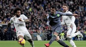 La Real se enfrenta al Barça. EFE