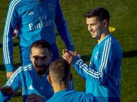 Brahim convocato per la Copa del Rey. EFE
