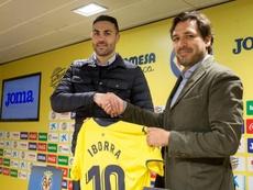 Iborra, presentado como nuevo jugador del Villarreal. EFE