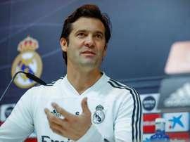 Solari aseguró que en el Madrid hay una competencia muy sana entre jóvenes y veteranos. EFE