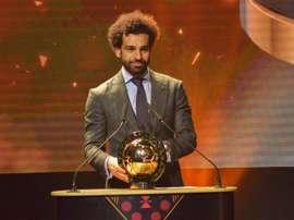 Mohamed Salah ha repetido como mejor jugador africano del año. EFE