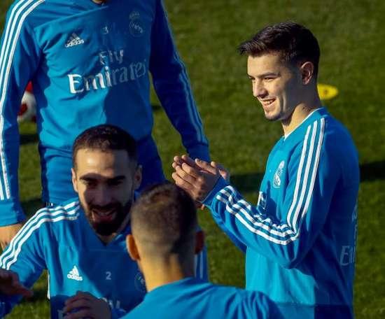 Brahim gagne la confiance de Zidane. EFE