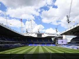 O Tottenham  se desculpou pelo atraso. EFE/Archivo