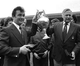 El padre de Nigel Clough es una leyenda en Inglaterra. EFE