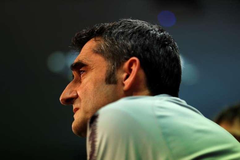 Ernesto Valverde volvió a salir escaldado de Orriols. EFE/Archivo