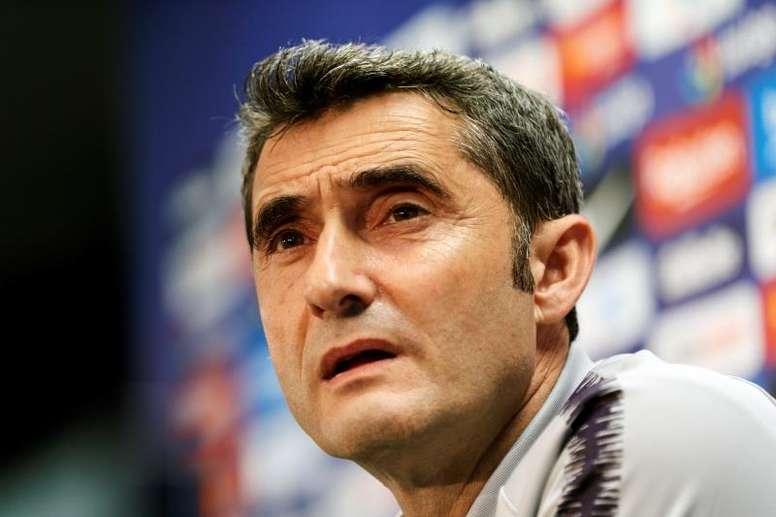 Valverde a parlé de renforcer l'équipe. EFE
