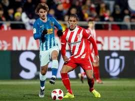 Girona e Atlético empataram em Montilivi. EFE