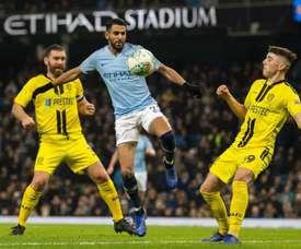 Les compos probables du match de FA Cup entre Burton et City. EFE