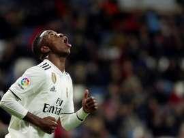 Passe décisive et but de Vinicius, victoire de Madrid. EFE