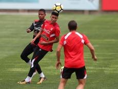 Sergio Peña es feliz en el Tondela. EFE