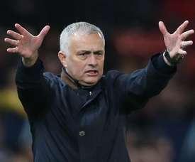 Mourinho falou sobre Sarri e Kepa. EFE/Archivo