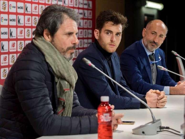 El Atlético de Madrid está interesado en Yeray. EFE