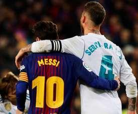 Já tem hora definida para o clássico entre Real Madrid e Barcelona. EFE