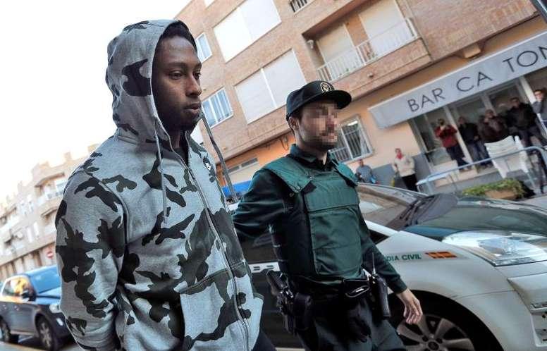 Rúben Semedo recordó su paso por la cárcel. EFE/Archivo