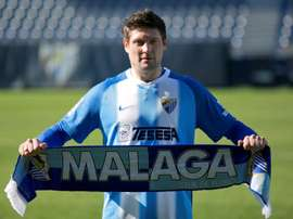 El Málaga recibe al Lugo. EFE
