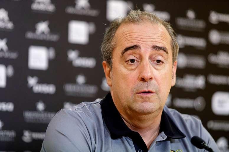 El entrenador del Iberostar Tenerife de baloncesto, Txus Vidorreta. EFE/Archivo