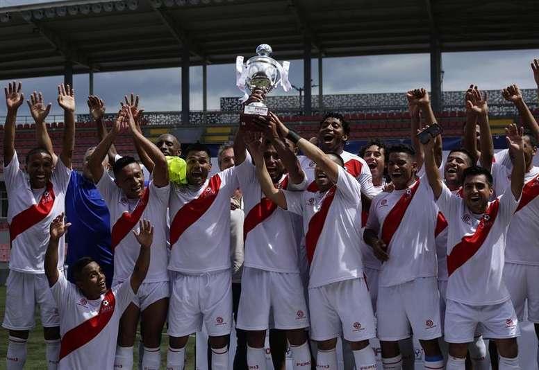 Perú, campeón. EFE