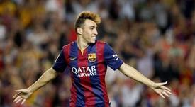 Munir dit au revoir à Barcelone. EFE