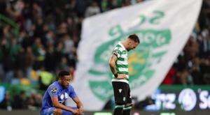 Casillas otalise sept déplacements à l'Alvalade sans victoire. AFP