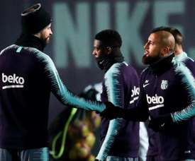 Pique was full of praise for Barcelona's midfield options. EFE