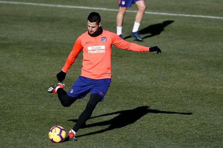 El Atlético le busca una salida a Vitolo. EFE