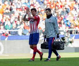 Simeone is hoping Savic does not pick up a knock with Montenegro. EFE