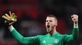 David de Gea is ready for Man Utd's historic clash with Liverpool. EFE