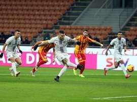 El Inter pasó de ronda. EFE