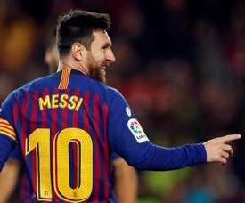 Messi a donné une interview exclusive. EFE
