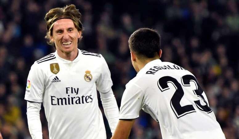 L'Inter n'oublie pas Modric. EFE
