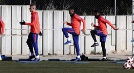 Nuevos 'refuerzos' para Simeone. EFE