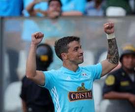 Gabriel Costa se comparó con Messi. EFE