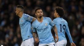 El City llegó a los 100 goles en enero. EFE