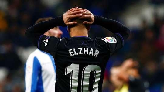 Nabil El Zhar a rompu son contrat avec Leganés. EFE/Archivo