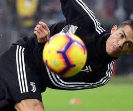 Chiellini a parlé de Cristiano Ronaldo. EFE