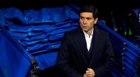 El delantero tiene las horas contadas en Valencia. EFE