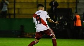 Quintero anotó el único tanto del partido. EFE