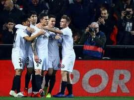 El Valencia ha cosechado una victoria, una derrota y un empate en los tres últimos choques. EFE