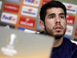 El futbolista ha decidido seguir en la Liga Belga. EFE