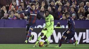 Jogo Levante - Barcelona, EFE