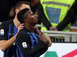 Keita Balde will not stay at Inter Milan next season. EFE/Archivo