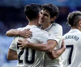 Le Real Madrid hésite entre Vallejo et Nacho. EFE/Archive