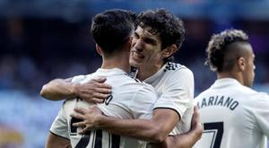Vallejo quer permanecer no Real Madrid. EFE/arquivo