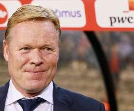 Il tecnico dell'Olanda Koeman, ex giocatore del Barça. EFE